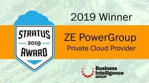Private Cloud Category for the 2019 STRATUS AWARDS