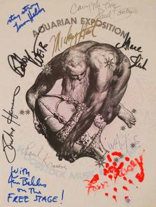Woodstock Program Signed By 15 Icons That Attended The Event Up For Auction Now