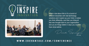 EOX Vantage 2019 Inspire Innovation Conference