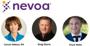 New team members Connie Addessi, Greg Storm, and Chuck Watts have joined the fight against Healthcare Acquired Infections at Nevoa Inc.