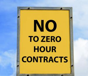 No Zero Hour Contracts