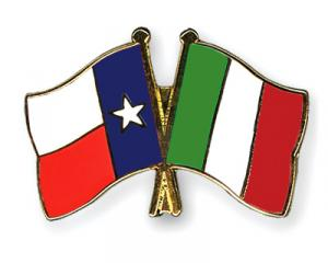 Texas and Italian Flag