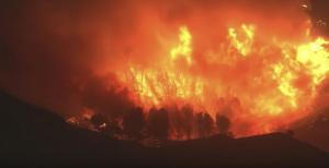 The Saddleridge Fire has burned through 7,500 acres and is only 3 percent contained.