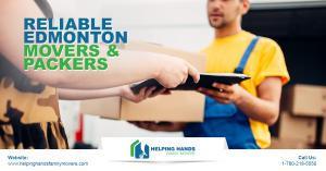 Helping Hands Family Movers - Reliable Edmonton Movers & Packers
