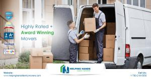 Helping Hands Family Movers - A+ Rated Award Winning Edmonton Movers