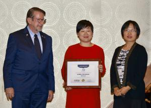 Aikucun won the Global CSR Award at the conference for corporate social responsibility (CSR) reflected in its business.