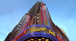 Radio City Music Hall Entrance