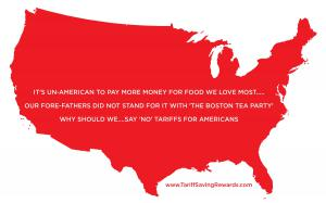 Simply call or write your Democratic and Republican Representatives in Congress and the Senate...let them know how you feel about the cost of food and the quality of your life. Have Fun for Good