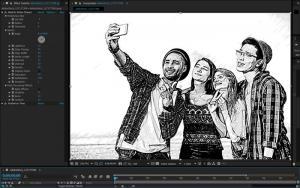 AKVIS Sketch Video 5.0 Screenshot