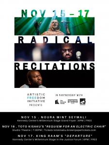 Radical Recitations Events