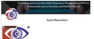 News about EyeOnReputation, online reputation management