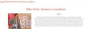 Profile of ORM Consultant Mike Meier