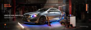 customized car lights