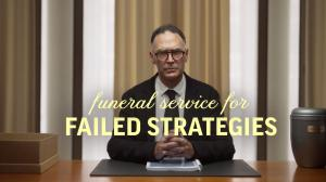 Funaral service for dead strategies by DecideAct